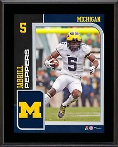 Jabrill-Peppers-Michigan-Wolverines-10-5-034-x-13-034-Player-Plaque-Fanatics