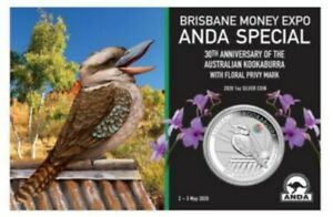 Australien-1-Dollar-2020-Kookaburra-Privy-Mark-Cooktown-Orchidee-1-Oz-Silber-ST