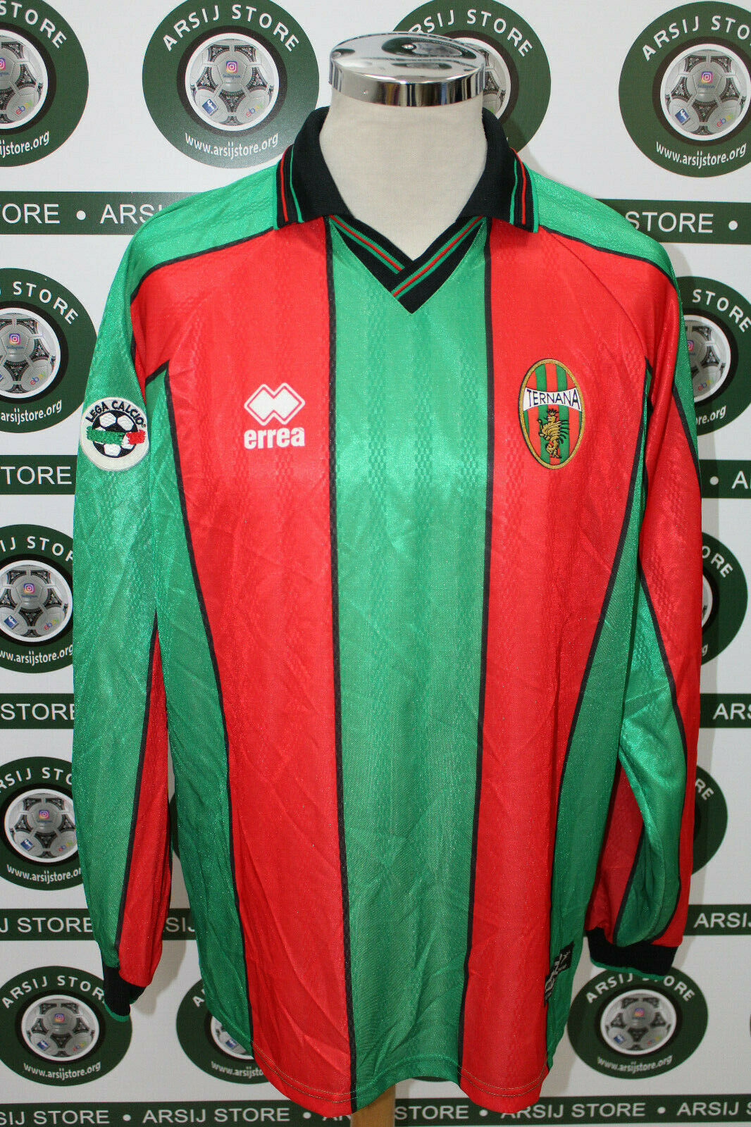 Maglia calcio shirt maillot camiseta trikot TERNANA GUZMAN MATCH WORN