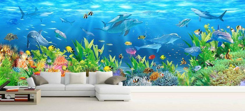 3D Amazing ColGoldt Ocean World 38 Wand Papier Wand Drucken Decal Wand AJ Wand Papier