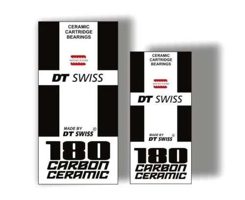 DT Swiss 180 Bicycle Hub Decal Road MTB Sticker Adhesive Set Vinyl Sheet 2 Pcs