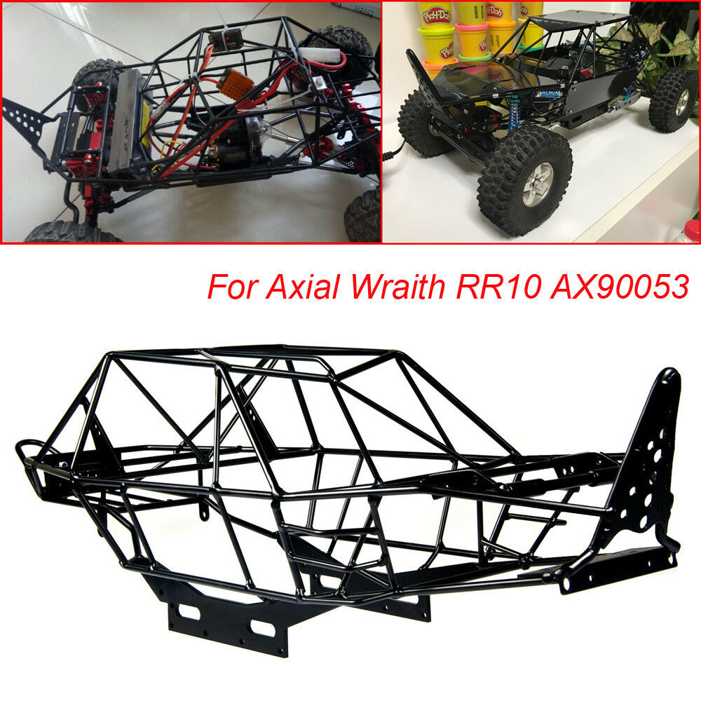 RC 1/10 Metal Steel Frame Body Roll Cage For Axial Wraith AX90053 RR10 Crawler