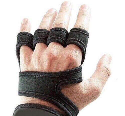 Trainings Handschuhe mit Handgelenkbandage&Daumenschlaufe
