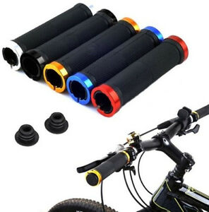 1Paar-Lock-On-Locking-BMX-MTB-Mountainbike-Fahrrad-Radfahren-Lenker-Griffe-Grips