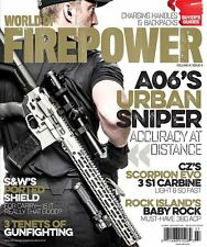 WORLD OF FIREPOWER MAGAZINE VOL. 4  ISSUE #4  JUL/AUG (2016) NEW  FREE SHIP