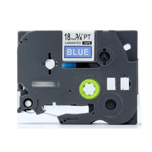 Great Quality Compatible For Brother P-Touch Tz Tze Label Tape 18mm all color