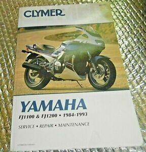 Yamaha FJ1100 /& FJ1200 1984-1993 Service Repair Shop Manual Clymer # 397