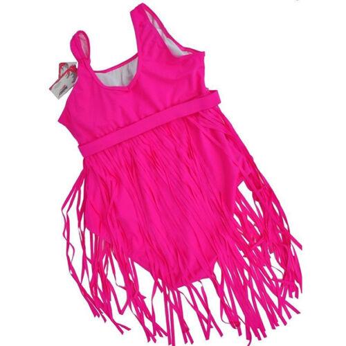 Damen Bademode Badeanzug Bikini Push Up Badekleid Schwimmanzug Kleider Übergröße