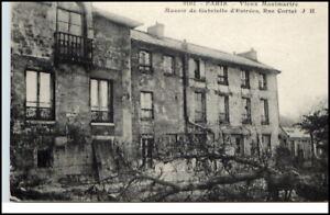 1910-CPA-PARIS-Rue-Cortot-Vieux-Montmartre-Gebaeude-AK