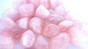 Rose-Quartz-Tumbled-Stones-20-25mm-Qty3-Healing-Crystals-Reiki-Love-Family