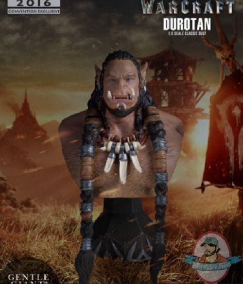 San Diego comic-con 2016 warraft Durojoan Classic Mini Busto Gentle Giant
