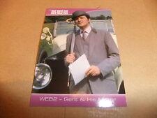 THE DEFINITIVE AVENGERS PATRICK MacNEE DIANA RIGG TV PROMO WEB 2 CARD EMMA PEEL