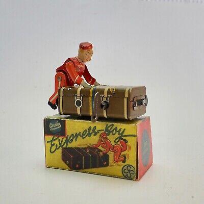 Gescha, Kofferboy, D.r.p. Blechspielzeug, Mit Original Karton