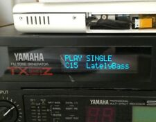 Yamaha TX81Z - MJC-8 - SPX90 Custom OLED Display !