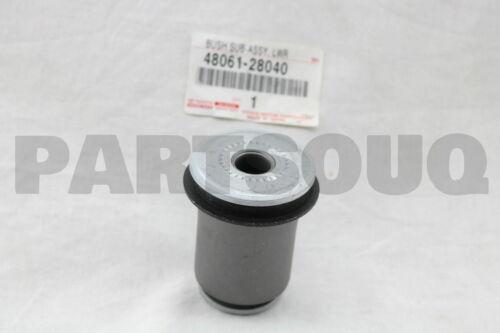 NO.1 FRONT LOWER ARM 4806128040 Genuine Toyota BUSH RH//LH 48061-28040