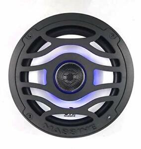 Pair-Massive-Audio-TS-T65XE-Speaker-w-LED-039-s-Marine-Grade-6-5-034-inch-Speakers