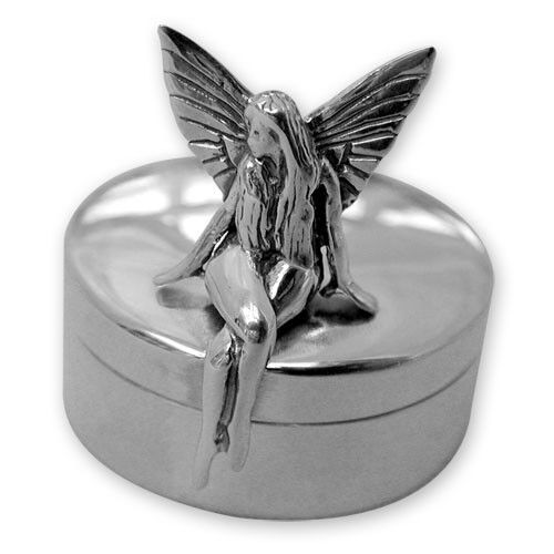 Hallmarked Sterling Silver Tall TOOTH FAIRY BOX Christening Gift NEW