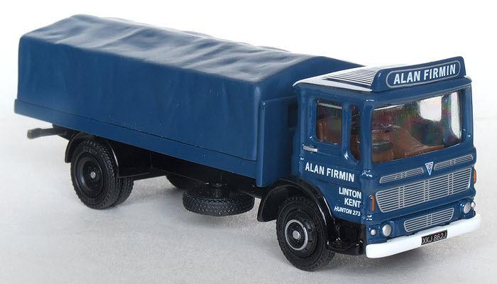 37601 Efe Aec Ergomatic Corto 2 Ascia Lastra Piana Camion Alan Firmin 1 76