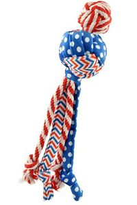 KONG-Patriotic-Wubba-Medley-for-Dog-Toy-Red-white-amp-blue-multi-patterned