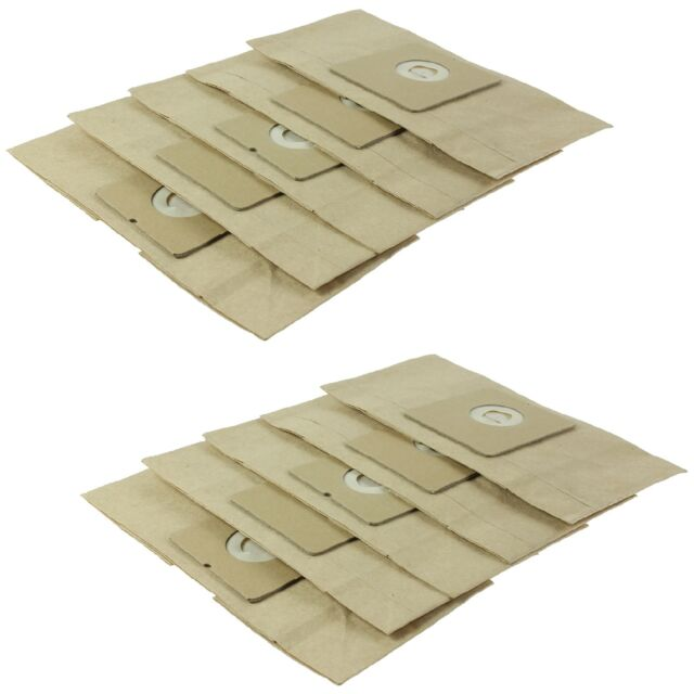 10 X Vacuum Cleaner Double Lined Dust Bag Hoover Bags For Tesco Vc404 Vc406