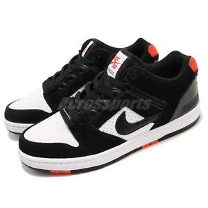 online retailer 863cb 878b6 Image is loading Nike-SB-Air-Force-II-Low-2-Black-