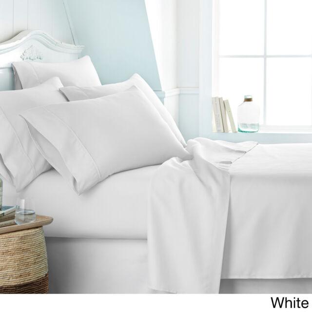 NEW SUPER SOFT KING SIZE DEEP POCKET (6) PIECE SHEET SET BED SHEETS