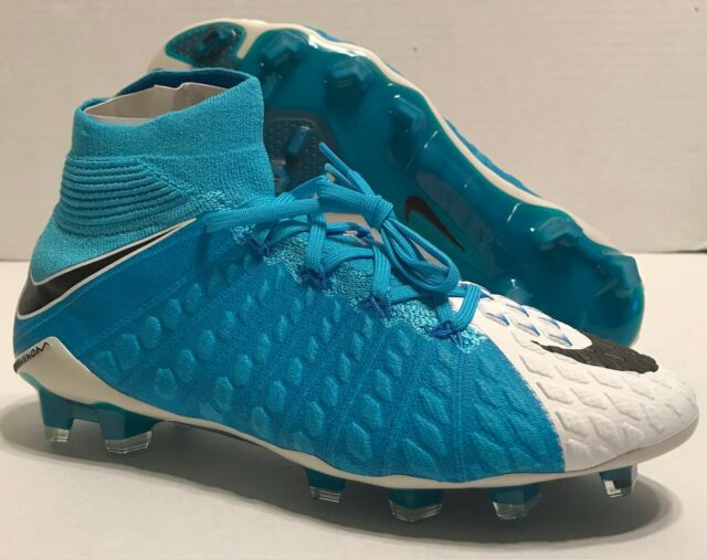 timeless design 72afe 20ad0 NIKE HYPERVENOM PHANTOM III 3 DF FG SOCCER CLEATS 860643-104 BLUE (MENS 6