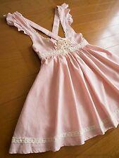 LIZ LISA Lace-up Flared JSK Jumper Dress Hime Sweet Lolita Kawaii Japan