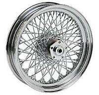 80 Spoke Twisted 16 Rear Wheel Harley Softail Flst Flstc Heritage Flstf Fat Boy