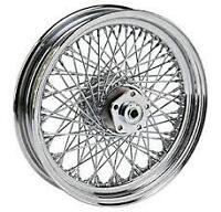 80 Spoke Twisted 16 Rear Wheel Harley Softail Flst Flstc Heritage Flstf Fat Boy