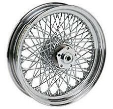 "80 SPOKE TWISTED 16"" REAR WHEEL HARLEY DYNA FXD SUPER GLIDE FXDL LOW RIDER 91-99"