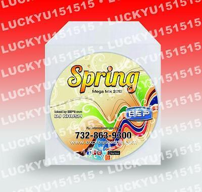 CD DVD DUPLICATION 50 CD's / DVD's Duplicated & Custom FULL COLOR PRINTING