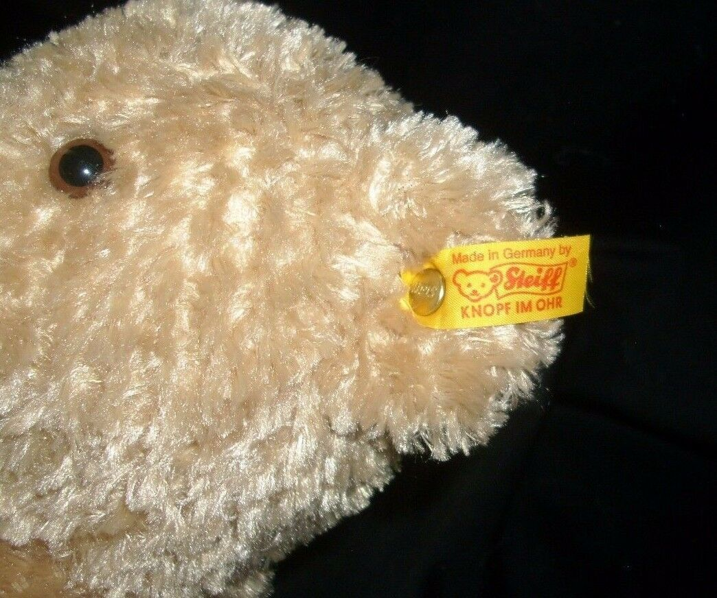 Steiff 990748 Sitzender Hump Baby Teddybär Plüschtier Plüschtier Plüschtier Spielzeug Gold Tag Ohr b9e3ce