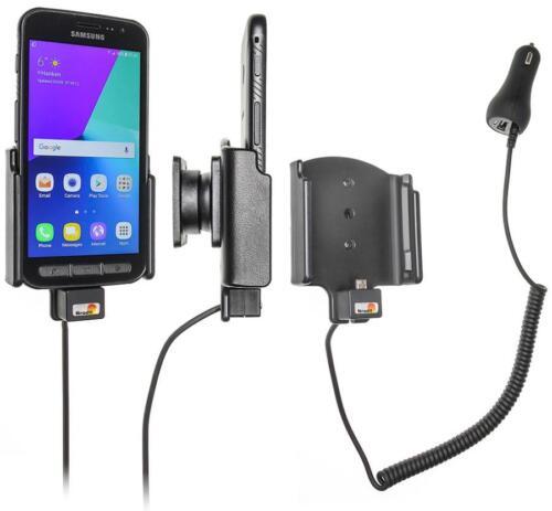 Vehículos BRODIT soporte 512958 con Zig anzünderanschluß para Samsung Galaxy Xcover 4