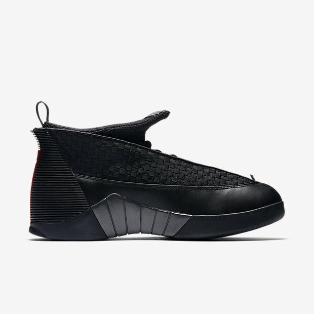 2017 Nike Air Jordan 15 XV Retro OG Stealth Size 7.5. 881429-001 1 2 3 4 5
