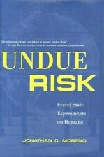 Undue Risk: Secret State Experiments on Humans (State Secrets)-ExLibrary