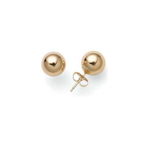 9ct gold Ball Studs 3-7mm Sizes Available