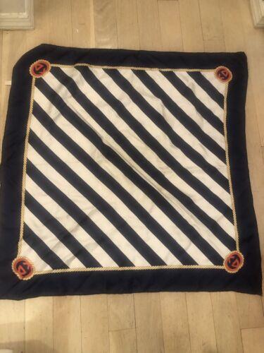 Gucci silk striped scarf