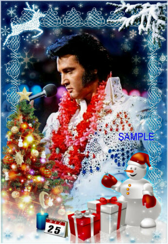 Elvis Christmas //Greeting Cards 12 count