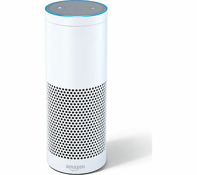New Amazon Echo Wireless Smart Home Hub and Speaker White