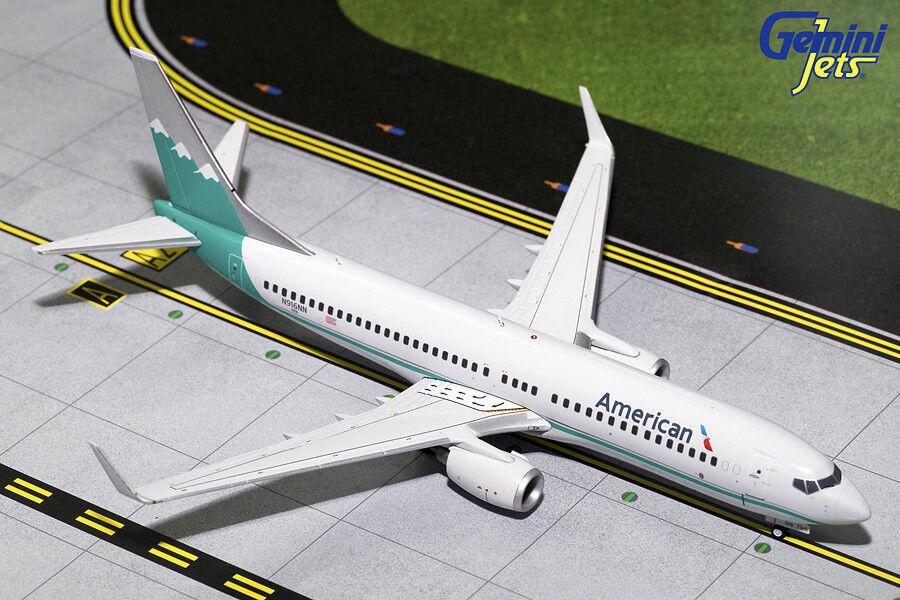 Gemini Jets 1 200 escala American Airlines 737-800  Reno Air  N916NN G2AAL703