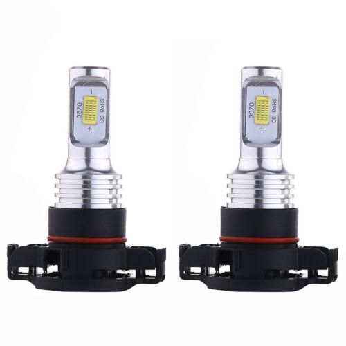 2x HID Xenon blanc 35W4000LM 6000K 2504 PSX24W LEDBrouillard Lumière Ampoules