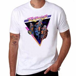 Bmx-Rebels-funny-T-shirts-Ringer-Men-039-s-Cotton-Short-Sleeve-Tops-tee-L-XL-XXL