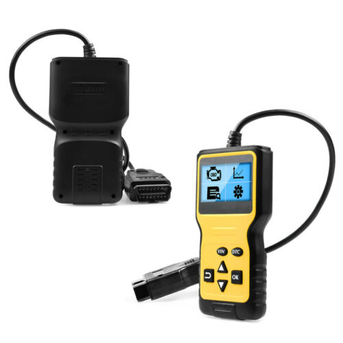 Multi-Functions LCD OBD2 16 Pins Car Scanner Diagnostic Scan Tool Code Reader