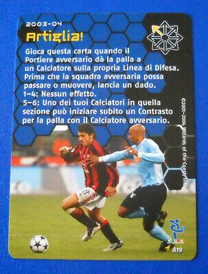 063//100 MILAN IVAN GENNARO GATTUSO foil FOOTBALL CHAMPIONS Italiano 2003-04