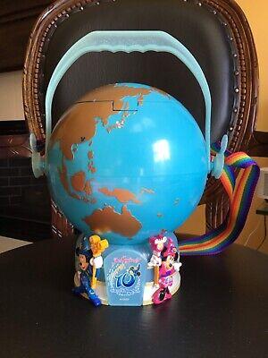 VG  LIMITED  Mickey Globe  Tokyo Disney Sea 10th anniversary popcorn bucket F//S