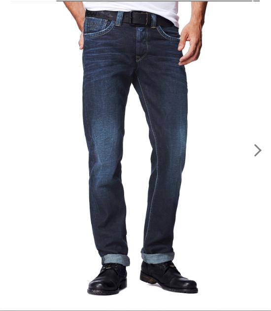 PEPE JEANS LONDON Cash Regolare Jeans Jeans Jeans Slim Z45 Wash - 32 32 ERA .00 ca32a5
