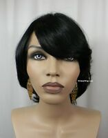 100% Human Hair Wig From Sepia - Catalina. Color 1- Black. Nice