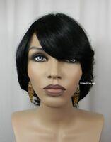 100% Human Hair Wig From Sepia - Catalina. Color 1- Black. Nice