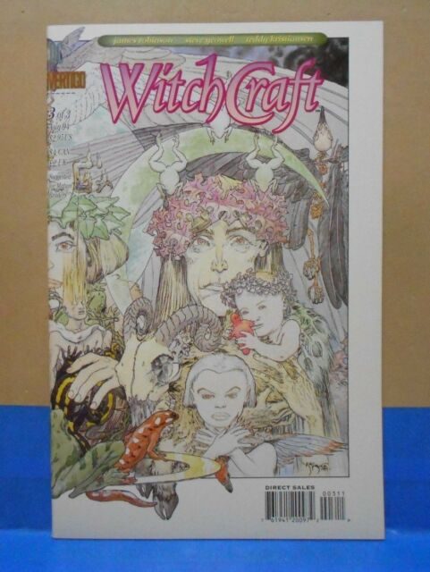 WITCHCRAFT #3 of 3 1994 Vertigo/DC 9.0 VF/NM Uncertified ALL COVERS MERGE TO ONE